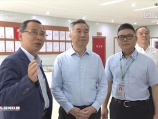 广东省委书记李希到中山调研,勉励manbetx手机下载药业凭实力赢得市场